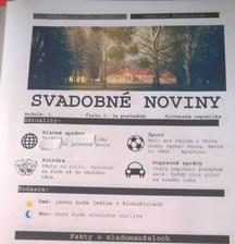 Svadobné noviny vytlačené :)