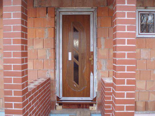 Tak stavíme II - Vchodové dveře - ty jediné jsou oboustranný dekor zl. dub