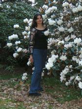 právě když kvetli rododendrony... nádhera!!!
