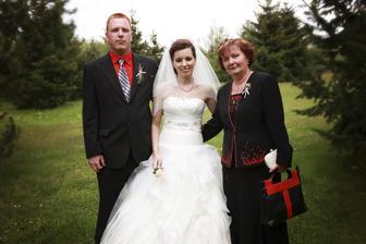 s bratom a maminou