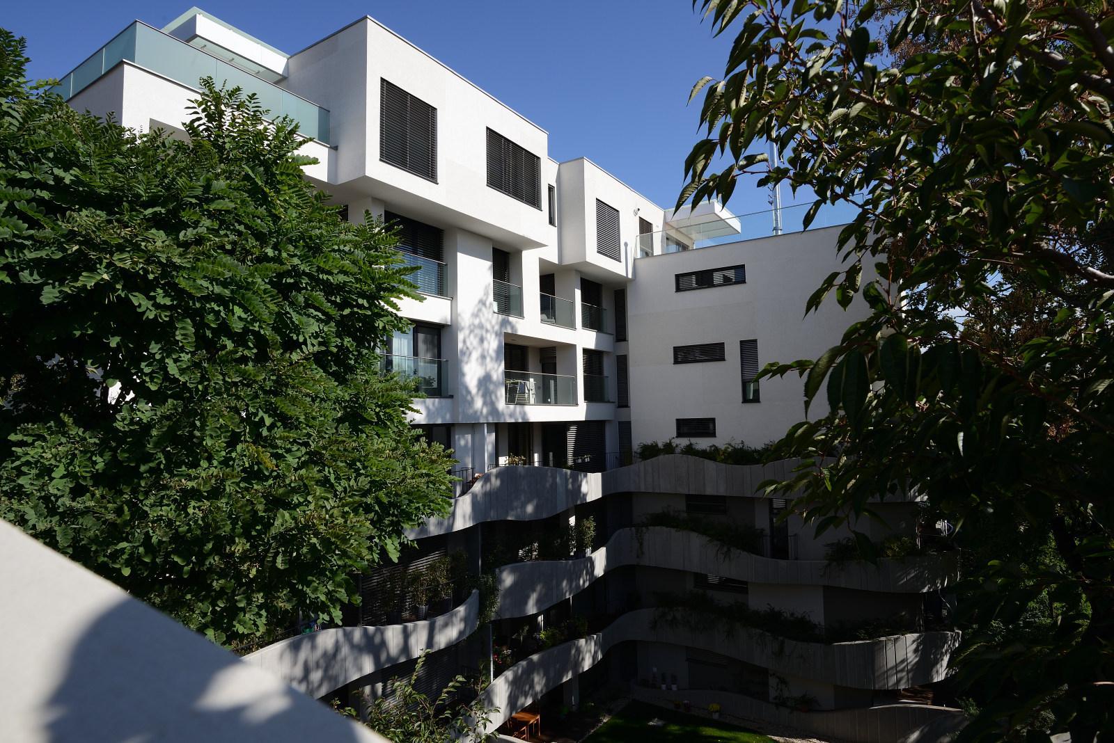 Rezidencia Sokolská so žalúziami K-system - Vonkajšie žalúzie K-system Bratislava - Rezidencia Sokolská
