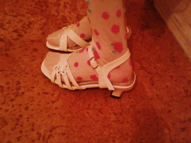 Klaudi a Peťo - Luckine sandalky