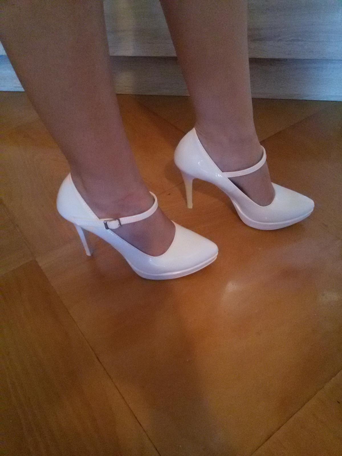 Čo už máme:) - moje svadobné topánočky