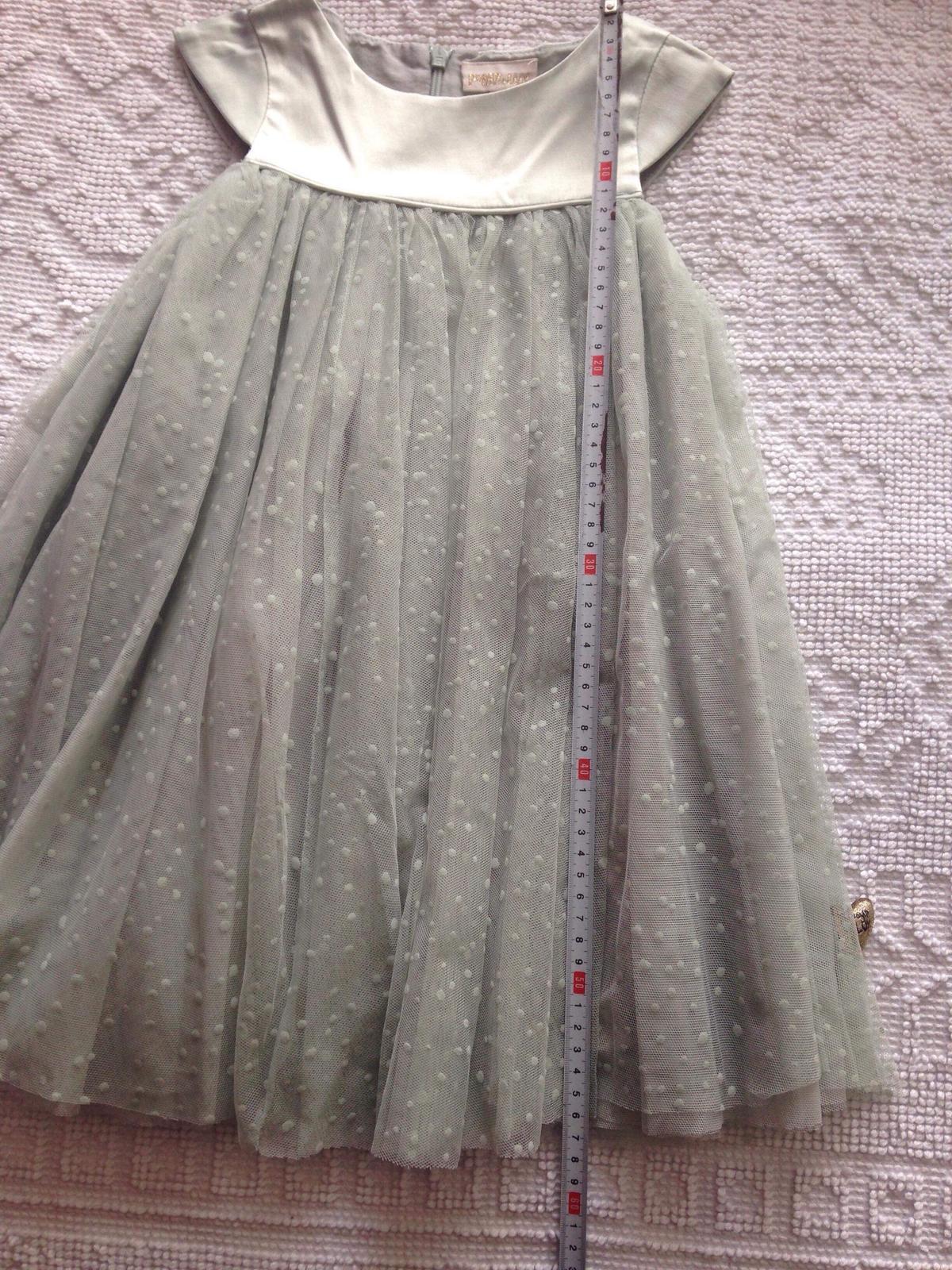 Šaty PompDeLux Ivy - mint - Obrázok č. 3