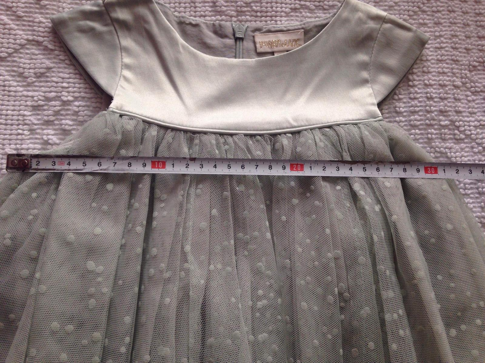 Šaty PompDeLux Ivy - mint - Obrázok č. 4