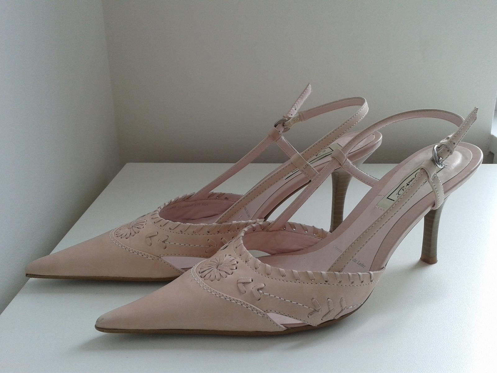 Elegantní jarní/letní lodičky, barva nádech růžové - Obrázek č. 2