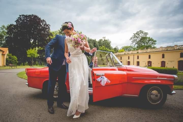 Svatební šaty vel.36 - Obrázek č. 4
