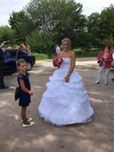 Svatební saty princeznovske, 38