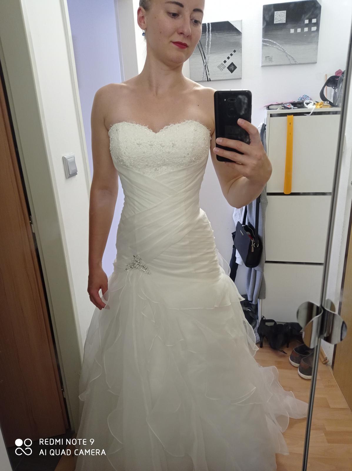 Svatební šaty vel. 34 - Obrázek č. 1