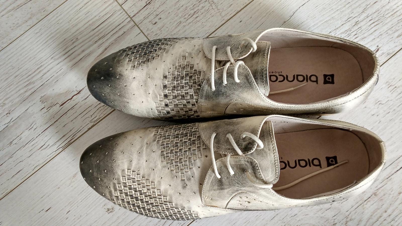 Pánske spoločenské topánky - Obrázok č. 1