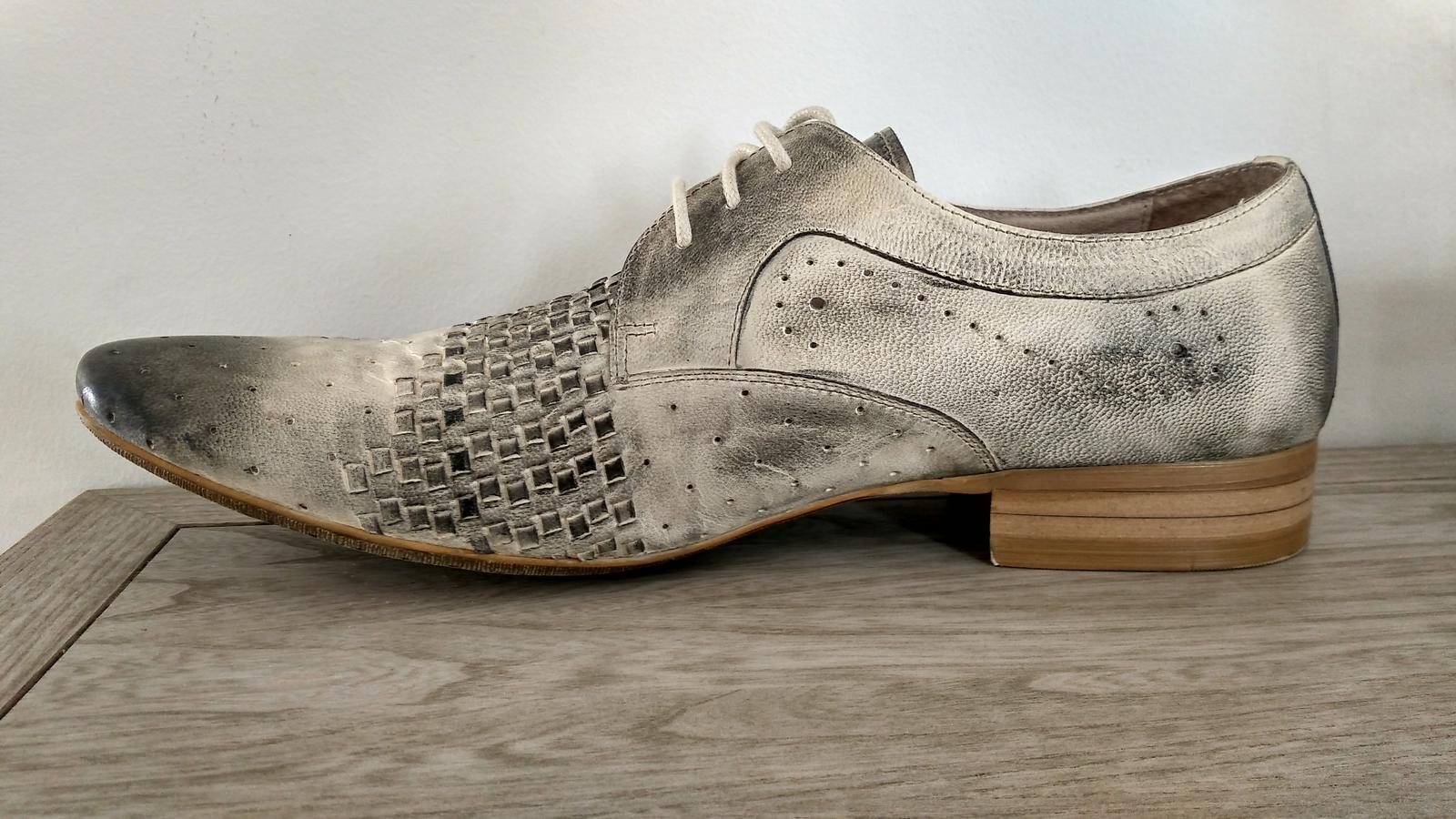 Pánske spoločenské topánky - Obrázok č. 2