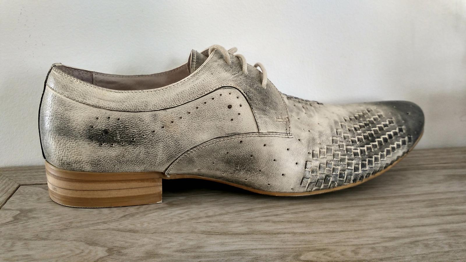Pánske spoločenské topánky - Obrázok č. 3