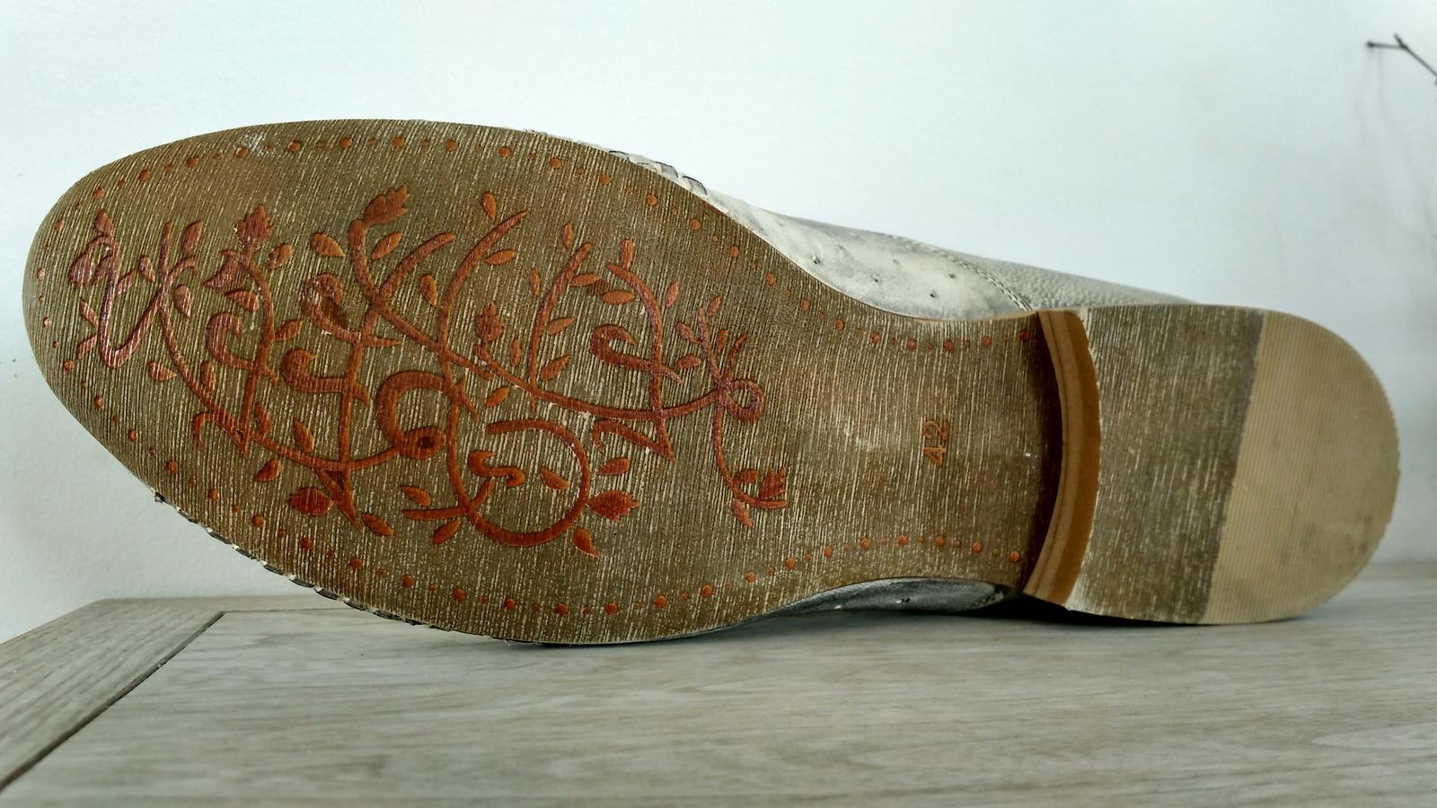 Pánske spoločenské topánky - Obrázok č. 4