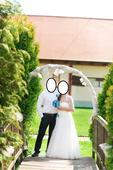 Svatební šaty + bolerko, 38