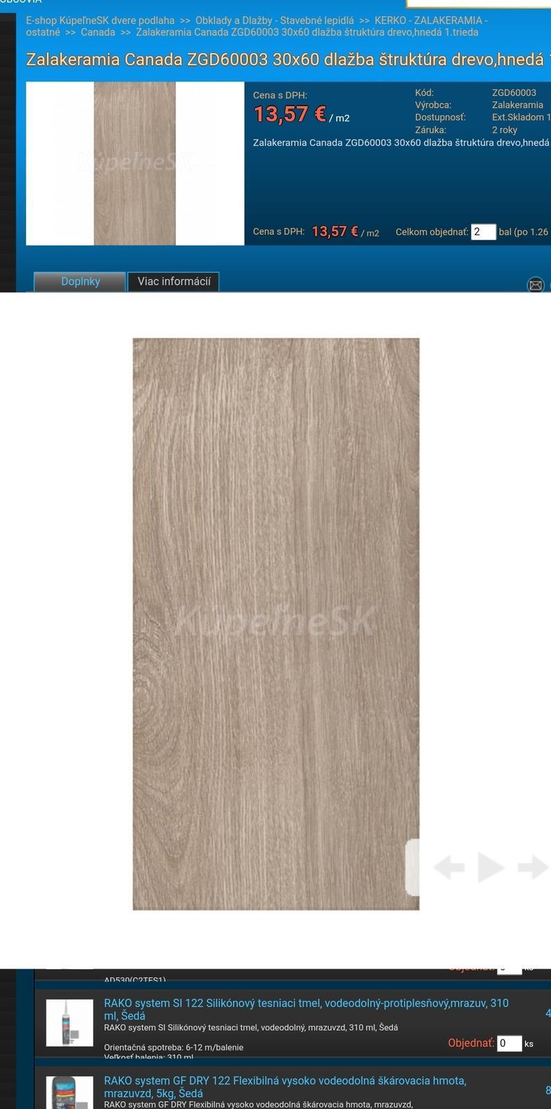 Zalakeramia Canada ZGD60003 30x60 - Obrázok č. 1