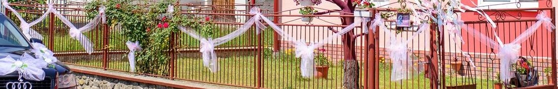 Mašle na výzdobu plota/do kostola - Obrázok č. 1