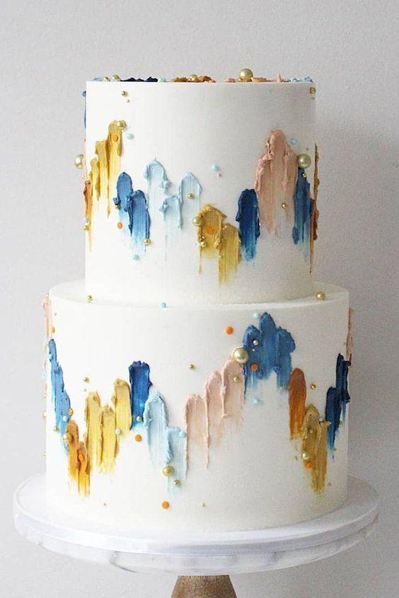 Najkrajšie svadobné torty - Obrázek č. 33