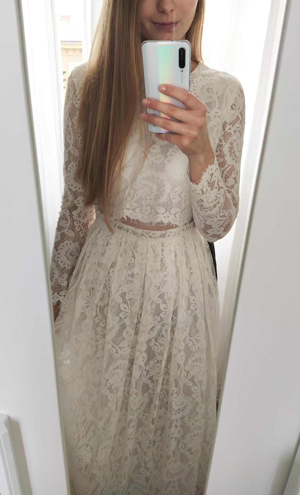 Vintage krajkové svatební šaty - Obrázek č. 1