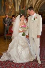 Nervozita opadla, už jsme manželé:-)