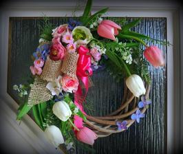 .. a tulipány použité vo venčeku