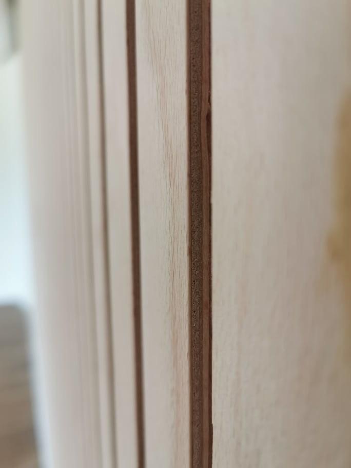 Lamelový panel na stenu/strop - profil lamelový panel natur