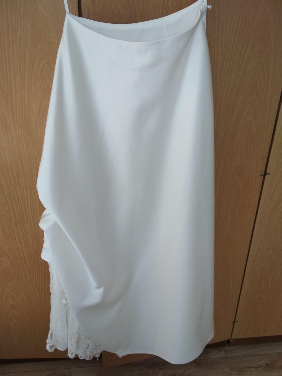 Svadobné šaty + bolerko. - Obrázok č. 4