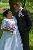 Svadobné šaty 48,50, 48