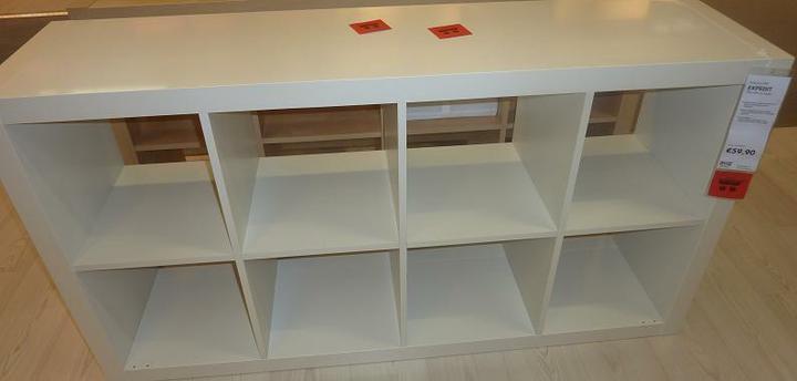 IKEA - biela inšpirácia na detskú izbu alebo spálňu - keby sa nezmestilo, tak toto na výšku...