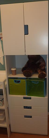 IKEA - biela inšpirácia na detskú izbu alebo spálňu - túto určite kúpime... asi aj dvojmo