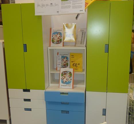 IKEA - biela inšpirácia na detskú izbu alebo spálňu - dá sa poskladať podľa potrieb...