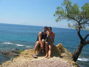 Ostrvov Tassos v Řecku byl úžasný...