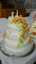 hlavná svadobná torta