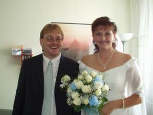 ...když si pro mě přišel ženich s kytičkou