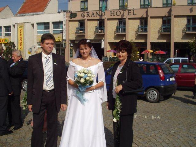 Zdeňka Harásková{{_AND_}}Aleš Holý - s rodiči