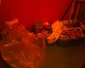 toto bola komora, zároveň to bola izbička pre nášho chlpáčika