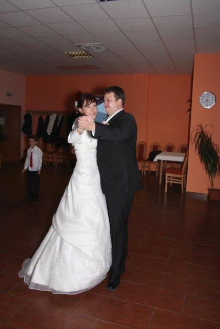 Mirka{{_AND_}}Matúš - prvý tanček
