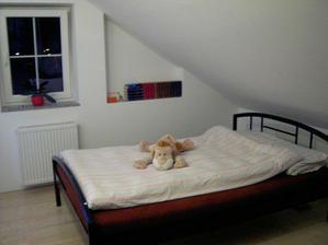 Už mám novou postel, chybí vymalovat (časem...) a nějaký poličky a obrazy.
