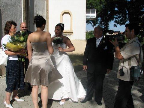 Katka {{_AND_}}Martin - Andrejka - nasa svedkyna nam gratuluje