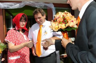 falešná nevěsta - nechtěl jí :-)