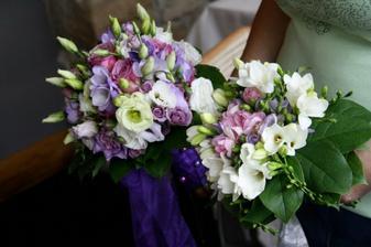 kytice pro nevěstu a pro maminky