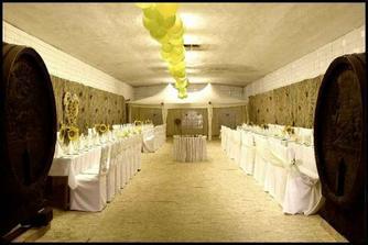 svadobna miestnost 4m pod zemou