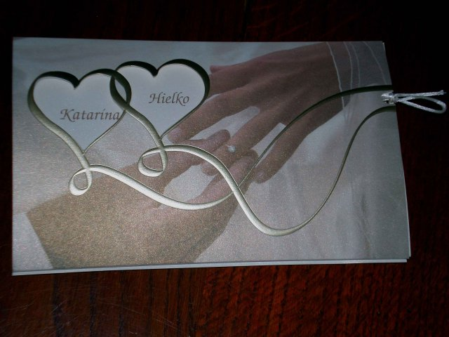 Katka&Hielko-pripravy - svadobne oznamenie