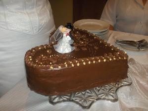 naša torta...nič svetoborné, ale chuťou bola úžasná...