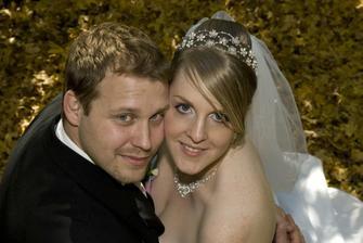 první svatební fotečka :-*
