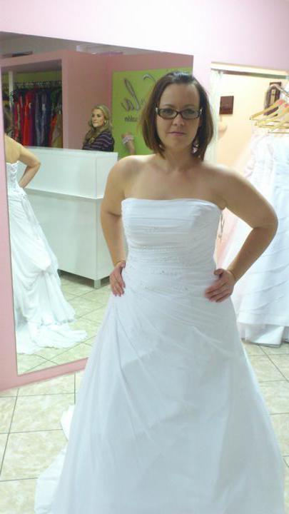 Na začiatok...až k Cieľu - Moje šaty...Šifónobe snehobiele s jemnými perličkami W1 Teresa