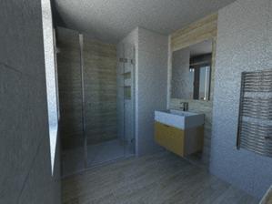 asi takhle dlažba v dolní koupelně (plus minus), špatná kvalita renderu, ale nemám trpělivost :-D