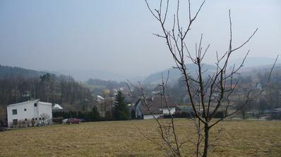 výhled do vesnice