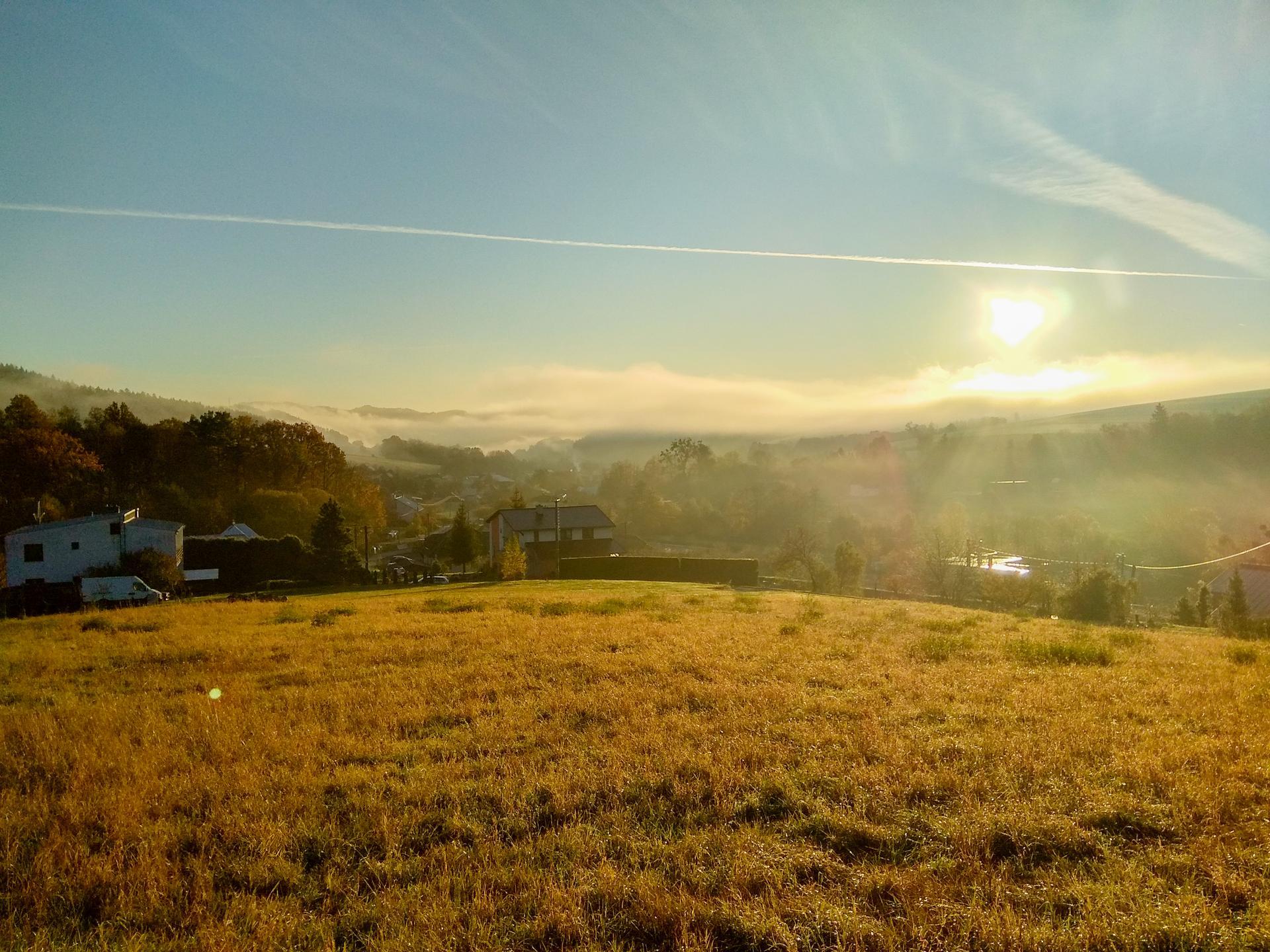 Takové nádherné ráno dneska bylo, o to se nejde nepodělit.😍 - Obrázek č. 1