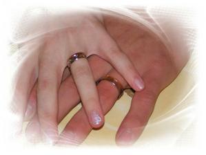 prstýnky (a krásné nehtíky od Míši - moc děkuju)