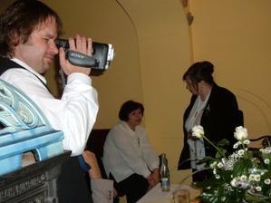 a náš pan fotograf a kameraman, moc děkujeme za krásnou památku